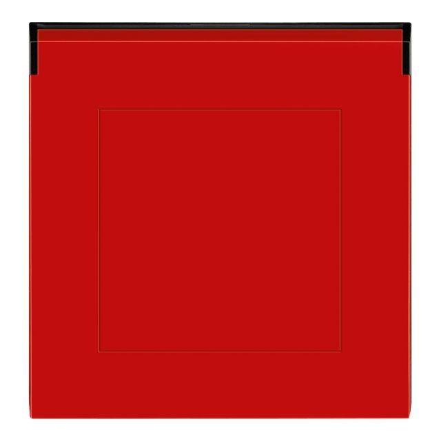 ABB Levit - červená/kouřová černá