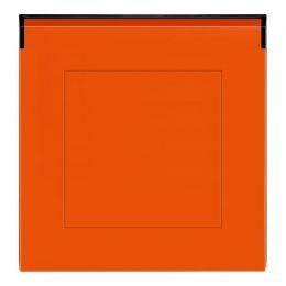 ABB Levit - oranžová/kouřová černá