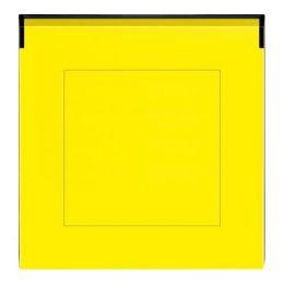 ABB Levit - žlutá/kouřová černá