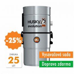 HUSKY EVOLUTION +Premium 9,1m+Nerez VacPan+ 9m hadice