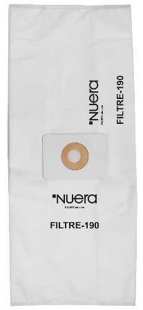 FILTRE-190, Filtrační sáček pro centrální vysavače HUSKY - Q Air, Q Air Cyklon, Aircyklon 160