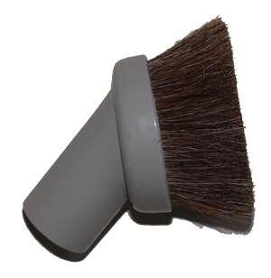 Kartáč kulatý štětinový na prach - šedý Husky