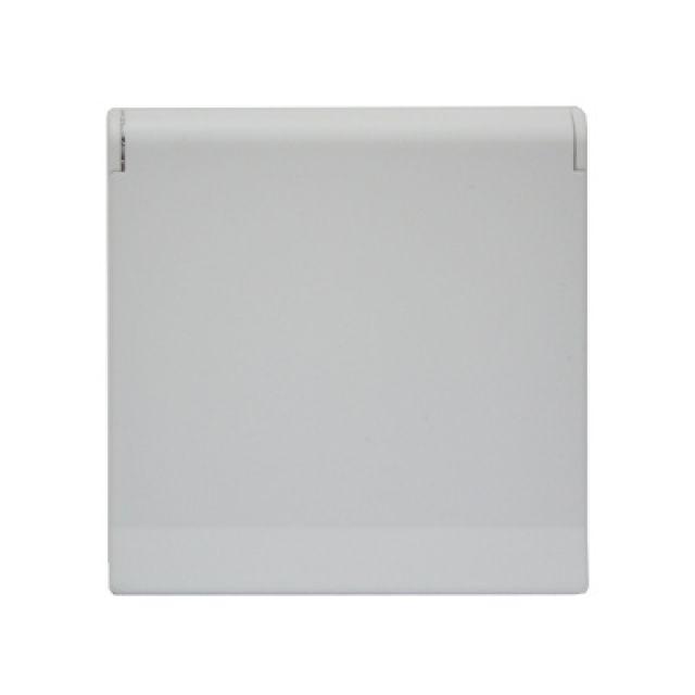 Kryt zásuvky FUTURE - Mechová Bílá ABB
