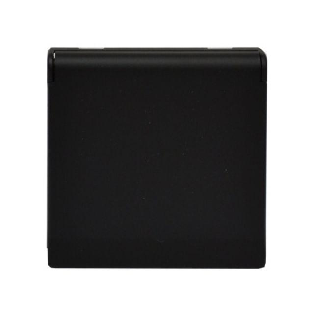 Kryt zásuvky FUTURE - Mechová Černá ABB