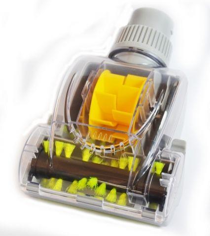 Malý turbokartáč na zvířecí chlupy pro centrální vysavače Husky, Duovac