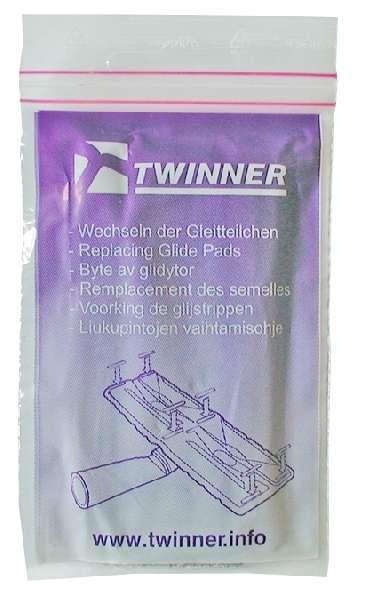 Náhradní kluzné polštářky TWINNER ( dvě sady )