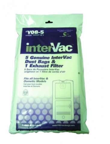 Náhradní sáčky + filtry pro GarageVac , INTERVAC ( obsah sáčku 3,7 l ) Husky