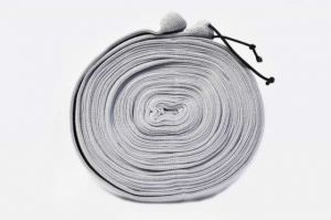 Potah na hadici látkový-šedý