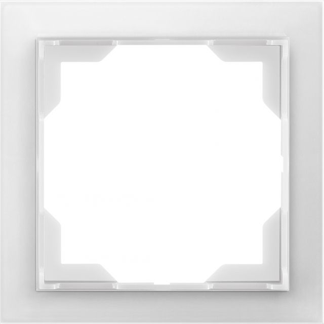Rámeček jednonásobný NEO Ledová Bílá ABB