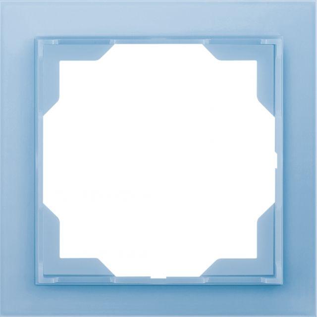 Rámeček jednonásobný NEO Ledová Modrá ABB
