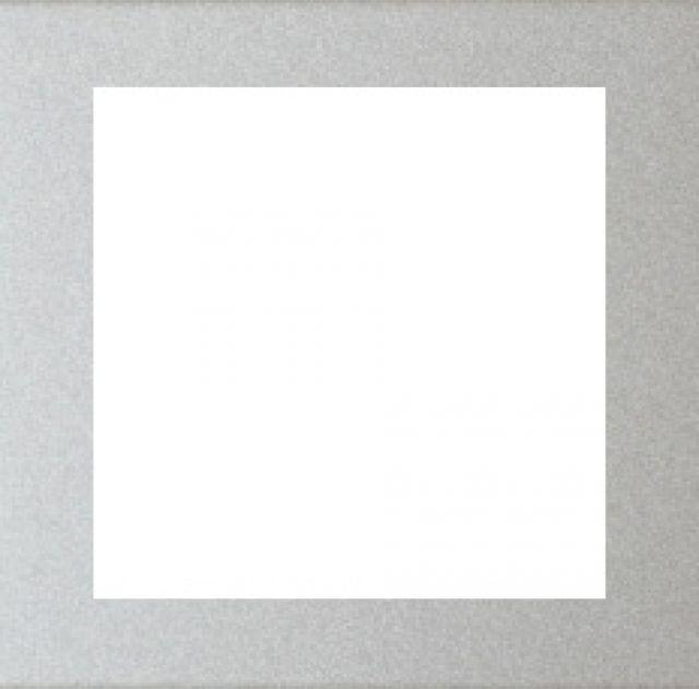 Rámeček zásuvky FUTURE - Hliníková Stříbrná ABB