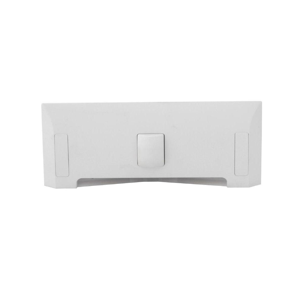 Štěrbinová zásuvka - bílá pro centrální vysavače