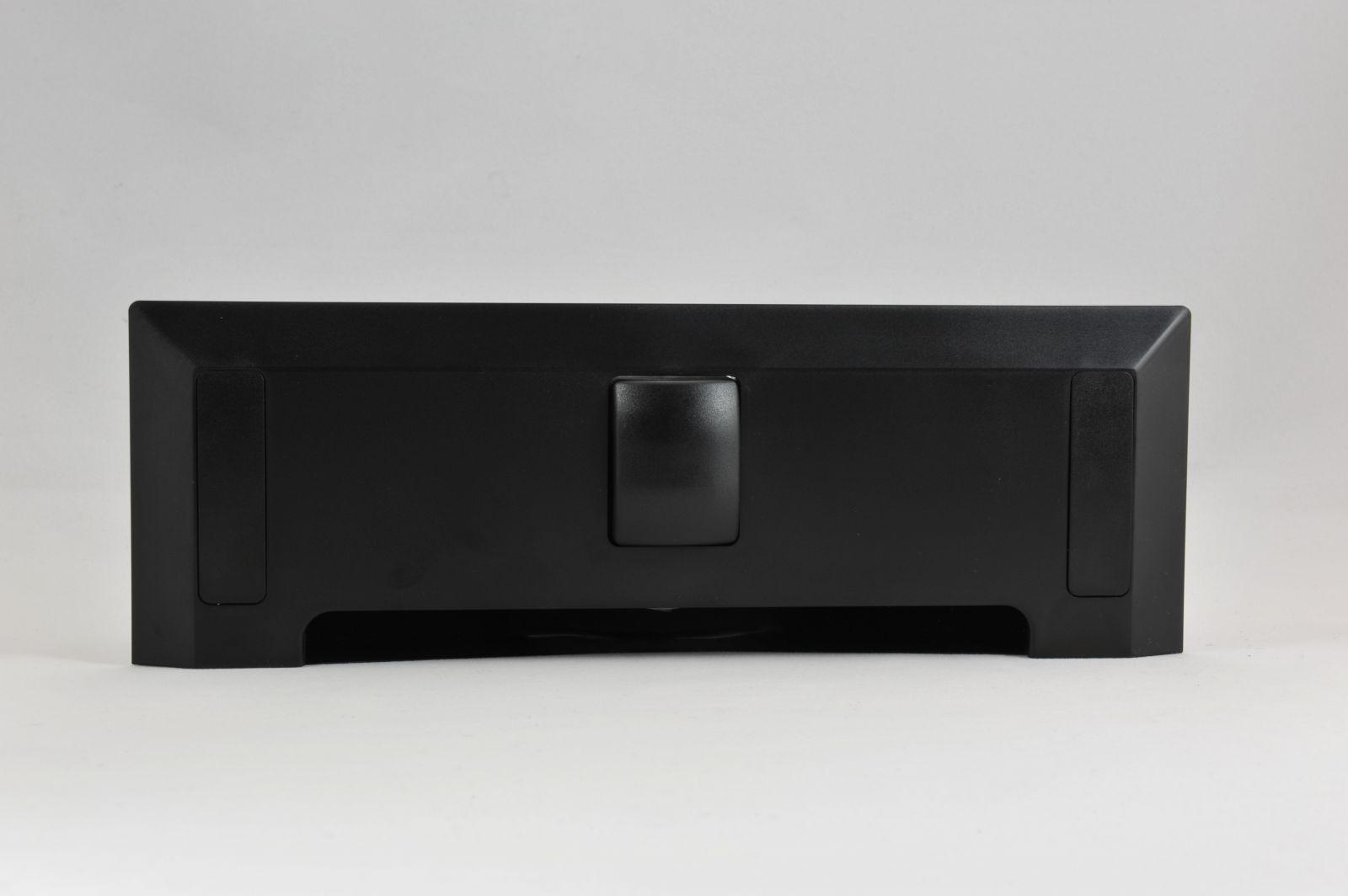 Štěrbinová zásuvka - černá pro centrální vysavače