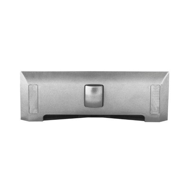 Štěrbinová zásuvka - stříbrná pro centrální vysavače
