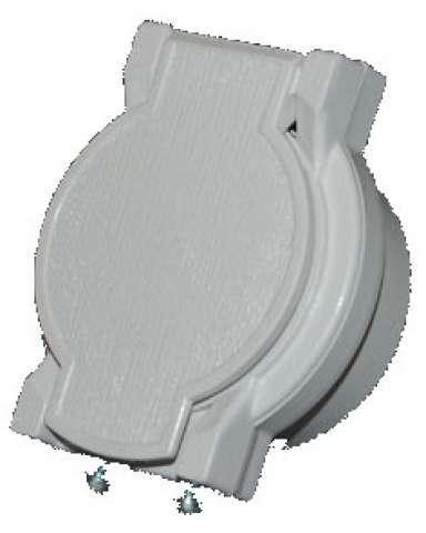Užitný ventil s kontakty pro centrální vysavače husky