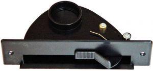 Vac pan - štěrbinová zásuvka černá
