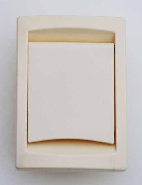 Vysavačová zásuvka Collection Slon. kost- obdelníková, kanadský typ Husky