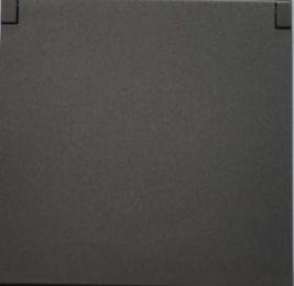 Vysavačová zásuvka NEO Tech -Ocel