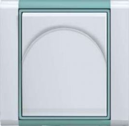 ABB  TIME bílá/ledově zelená