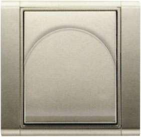 Zásuvka Time starostříbrná pro centrální vysavače ABB