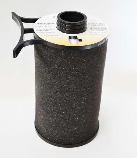 Zvukový tlumič s HEPA filtrem Husky. Pro vnitřní výfuk vzduchu.
